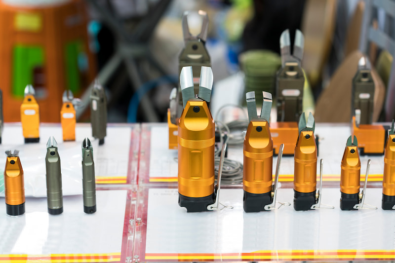 Different nozzle types used in hot runner systems