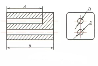 Common hole design requirements 2