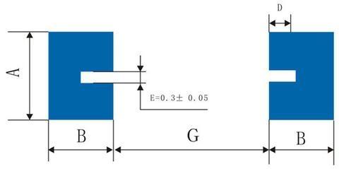 Cylindrical SMD Bonding Pad