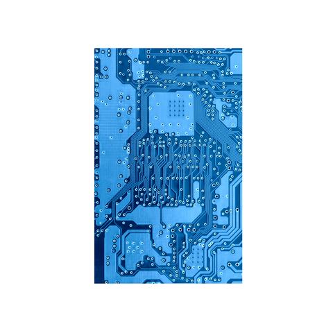 printed circuit board blue