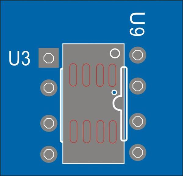 DIP-8 and SOIC-8 packages components compatible design
