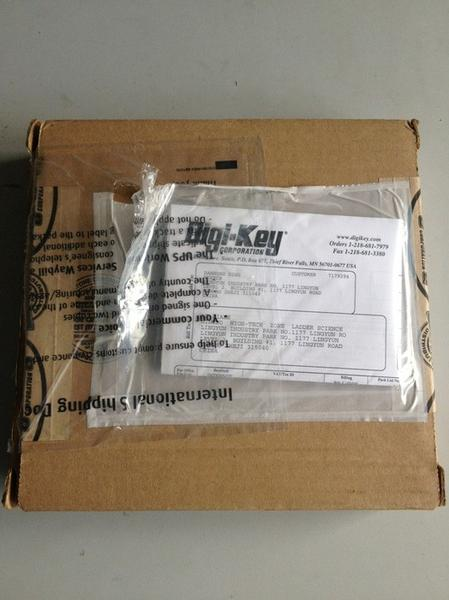 digikey packaging