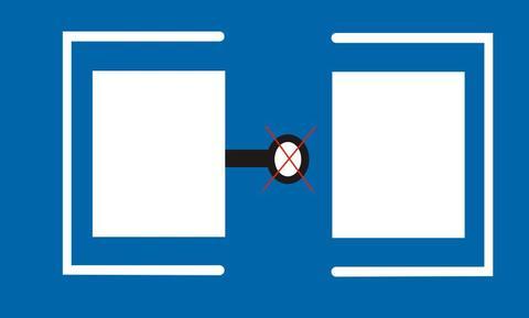 Incorrect Design of Through Hole Position