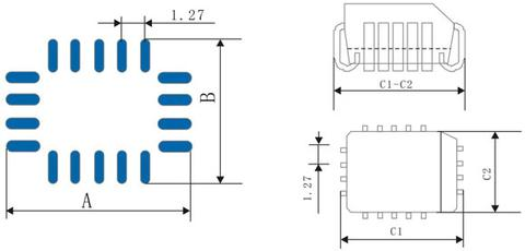 PLCC Shape and Bonding Pad
