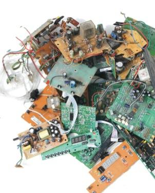 damaged PCBs