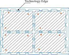 The Long Slot plus a Small Circular Hole Separating Method