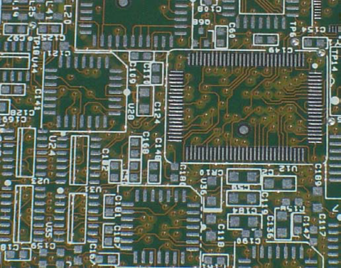 A PCB With HASL Finish
