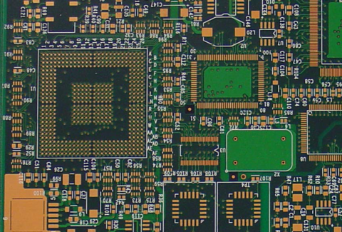 A PCB With Entec 106 Organic Coating