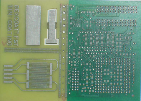 A PCB With Immersion Tin
