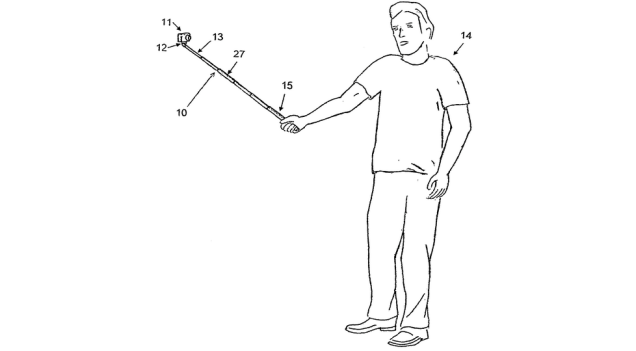 selfie stick design
