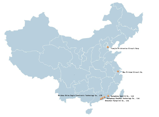 the leading Chinese PCB Industries
