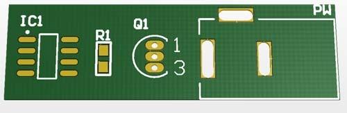 pads - printed circuit board concepts PCB