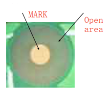 Mark Point and open area