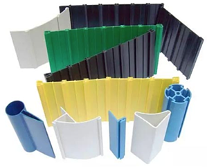 PVC plastic pieces