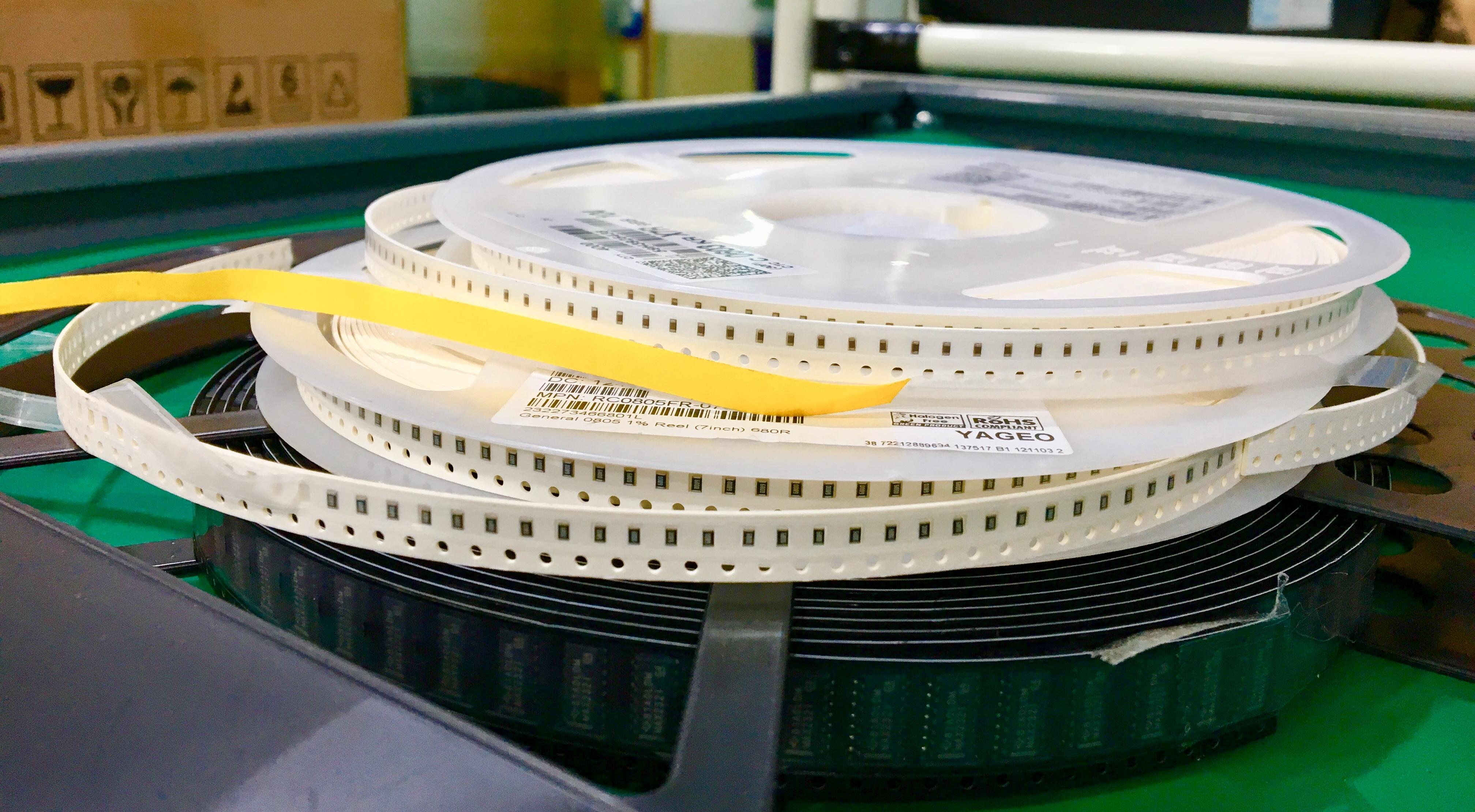 Standard part component packaging