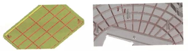 rectangular grid and round grid