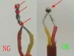 rolled thermocouple wire problems