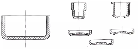 the supporting design of plastic product 3