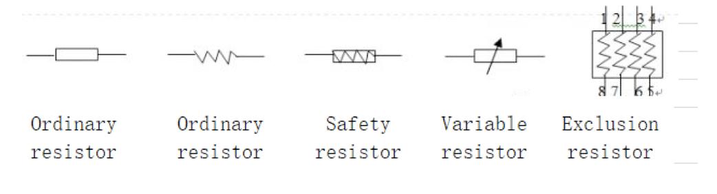SMT Chip Resistor 1
